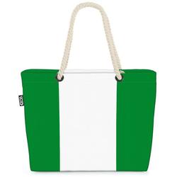 VOID Strandtasche (1-tlg), Nigeria Flagge WM Länderflagge Fahne