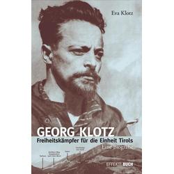 Georg Klotz als Buch von Eva Klotz