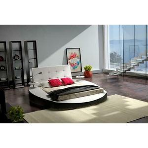 Designer Bett Betten Polsterbett Rundbett 160x200 Ehebett Doppelbett Neu