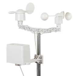 Wettermessgerät-Kit für Windgeschwindigkeit, Windrichtung und Niede...