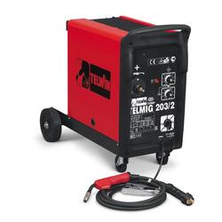TELWIN Telmig 203/2 Turbo MIG MAG Schweißgerät Inkl. Schlauchpaket und Zubehör