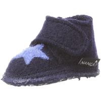 NANGA Baby Hausschuhe Stern Mädchen Hausschuh blau 19