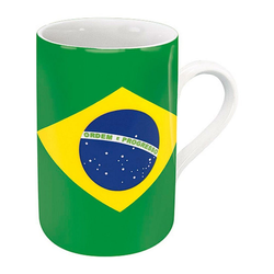 Könitz Becher Flaggenbecher Brasilien 310 ml
