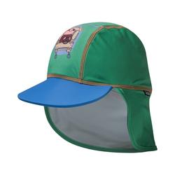 SWIMPY Sonnenhut Baby Cap Willi Wiberg mit UV-Schutz grün 48