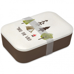 Lunchbox Bamboo - Into the Wil(DH 10x9 cm) Design@Home
