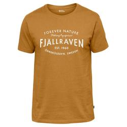 "Fjällräven T-Shirt Herren T-Shirt ""Fjällräven Est. 1960"" braun S"