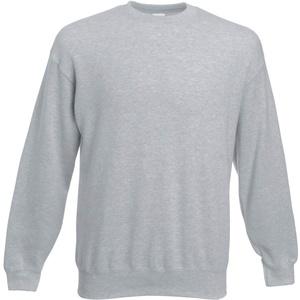 Fruit of the Loom Herren 62-202-0 Sweatshirt, grau meliert, 2X-Large