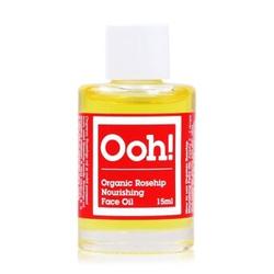 Oils of Heaven Organic Rosehip Face Oil  olejek do twarzy  15 ml