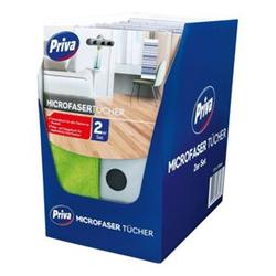 Priva Microfaser Tücher Set 2 Stück, 12er Pack