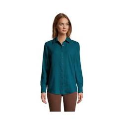 Boyfriend-Bluse aus Flanell - L - Grün