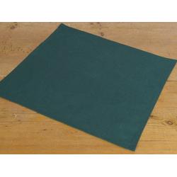 Stoffserviette, Textil Stoff Serviette grün einfarbig 45x45 cm, matches21 HOME & HOBBY