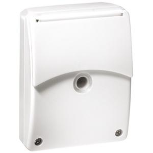 EsyLux ED10016530 Aufputz-Daemmerungsschalter CDS-A/N weiss