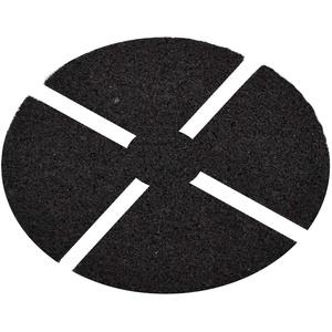 Premium Auflagepad 3 mm Trittschutzpats für Plattenlager Terrassenlager Stelzlager Stellfuß Basic Ø130 mm 15 Sück