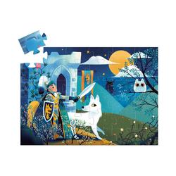 DJECO Puzzle Formen-Puzzle Ritter des Vollmonds, 36 Teile, Puzzleteile