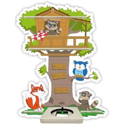 Wandregal für Hörspielbox: Baumhäuschen