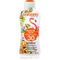 Babaria Tropical Sun schützende Sonnenmilch SPF 30 100 ml