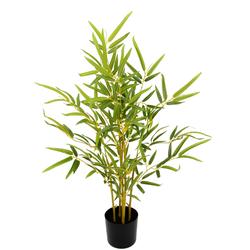 I.GE.A. Kunstbaum Bambus, Im Topf grün Künstliche Zimmerpflanzen Kunstpflanzen Wohnaccessoires