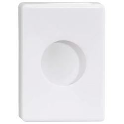 NIE WIEDER BOHREN Feuchttücherbox WE, in weiß weiß 10 cm x 14 cm