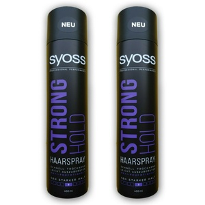 Syoss/Strong Hold Haarspray 2x400ml/Haarstyling