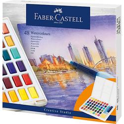 Aquarellfarben, 48 Farben