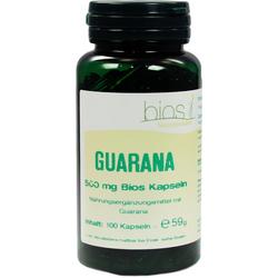 Guarana 500 mg Bios Kapseln