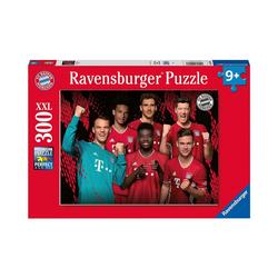 Ravensburger Puzzle Puzzle FC Bayern Saison 2020/21, 300 Teile, Puzzleteile
