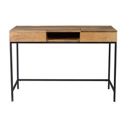 Design-Schreibtisch Industrie-Stil Mangobaum YPSTER