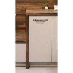 Feldmann-Wohnen Unterschrank ESSEN (Küchenunterschrank, Küchenschrank) ES-D1D/30 - Korpus- und Frontfarbe wählbar grau