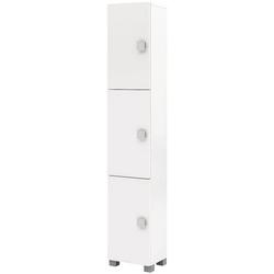 Hochschrank »Edia Bad« weiß, Möbelpartner, 30x167.5x21.5 cm