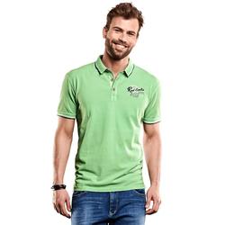 Besticktes Poloshirt Engbers Signalgrün