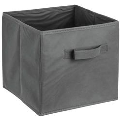 ADOB Aufbewahrungsbox Faltbox, Faltbox mit Griff grau
