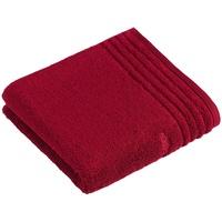 VOSSEN Vienna Style Supersoft Handtuch (50x100cm) rubin