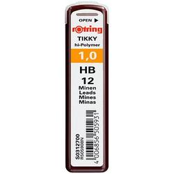 12 rotring   Bleistiftminen HB 1,0 mm