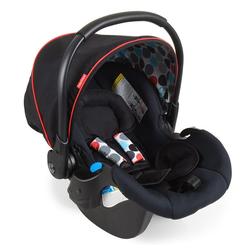 Fisher-Price® Babyschale Comfort Fix - Black, 4.3 kg, (2-tlg), Gruppe 0+ Baby Autositz - ab Geburt bis 13 kg