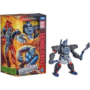 Hasbro Actionfigur Transformers Generations War for Cybertron: Kingdom Voyager WFC-K8 Optimus Primal