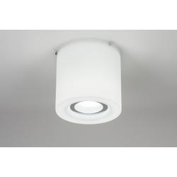 Plafondlamp Chroom 67795