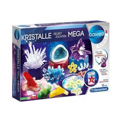 Clementoni® Lernspielzeug Galileo - Kristalle selbst züchten Mega