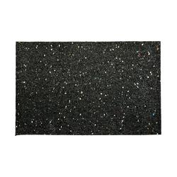 acerto® Gummimatte acerto® Waschmaschinenmatte aus Gummigranulaten - 60 x 40 x 1,5 cm