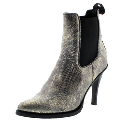 FB Fashion Boots EVA II Oro Damen Stiefelette Stilettos Gold Stiefelette 40 EU