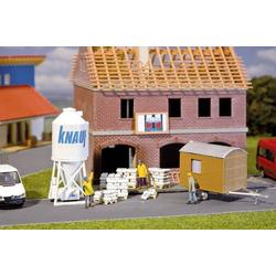 Faller 180601 H0 Gips-Silo und Bauwagen Bausatz
