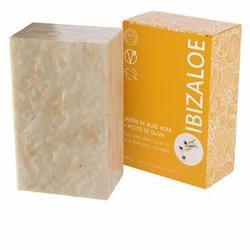IBIZALOE jabón de Aloe Vera + Aceite de Oliva 100 g
