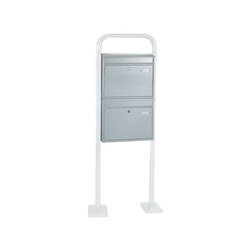 Briefkastenanlage mit 2 Briefkästen, Rottner, 44x63.5x12.5 cm