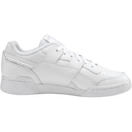 Reebok Workout Lo Plus white/white/lilac frost 40