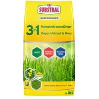SUBSTRAL 3 in 1 Komplett-Rasendünger 14 kg