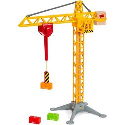 BRIO® Spielzeug-Kran BRIO® WORLD Großer Baukran mit Licht