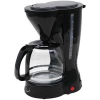 DESKI Kaffeemaschine schwarz