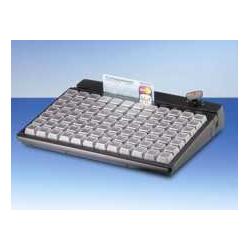 MCI 84 - Programmierbare Kassentastatur, bestückt mit 1er Tasten, USB, weiss
