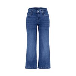 Deerberg Damen 7/8-Jeans Dawina blue-used