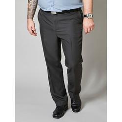 Hosen Men Plus Schwarz/Grau