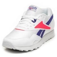 white/team purple/neon red 45